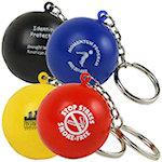 Stress Ball Key Chain Stress Balls